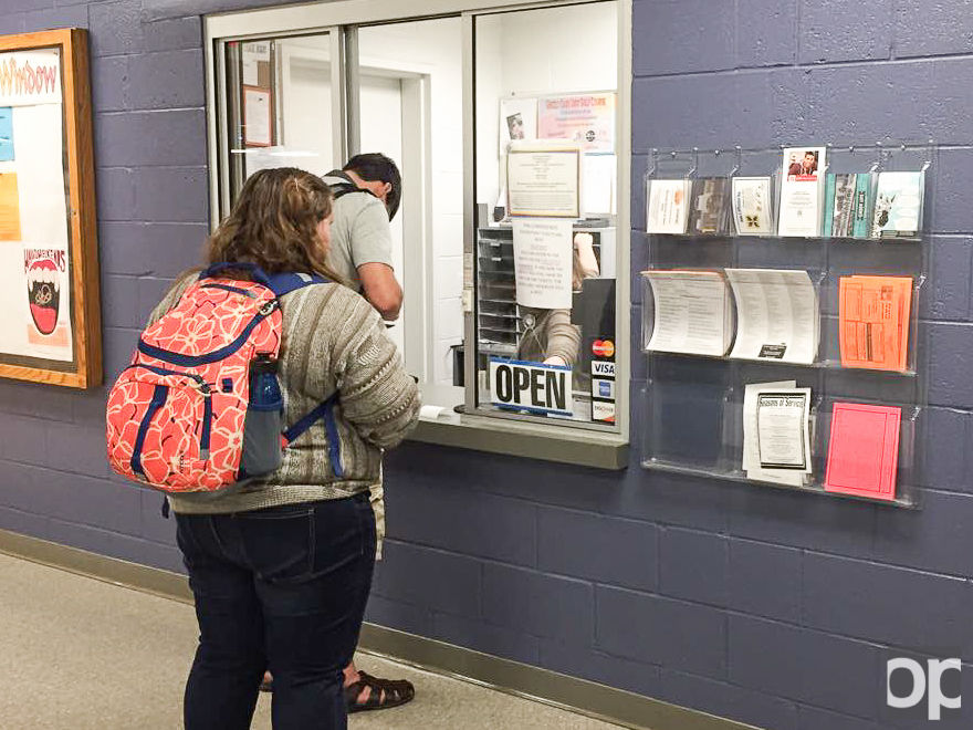 The CSA service window offers a wide variety of tickets for on-campus activities and events.
