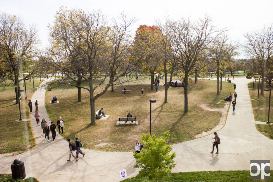 Of the 17,161 undergraduate students that enrolled, 2,716 are in their first year at any college.