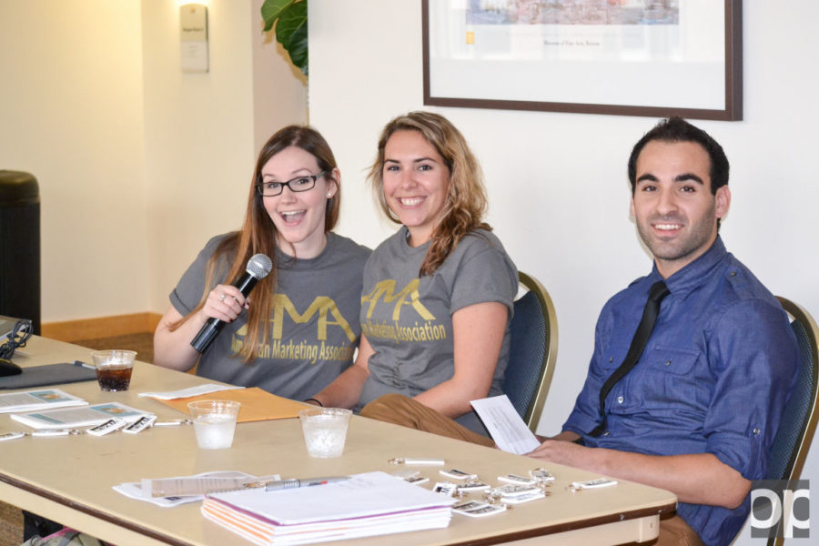 The American Marketing Association (AMA) at Oakland University held their first Marketing Week from Oct. 5 - Oct. 8.