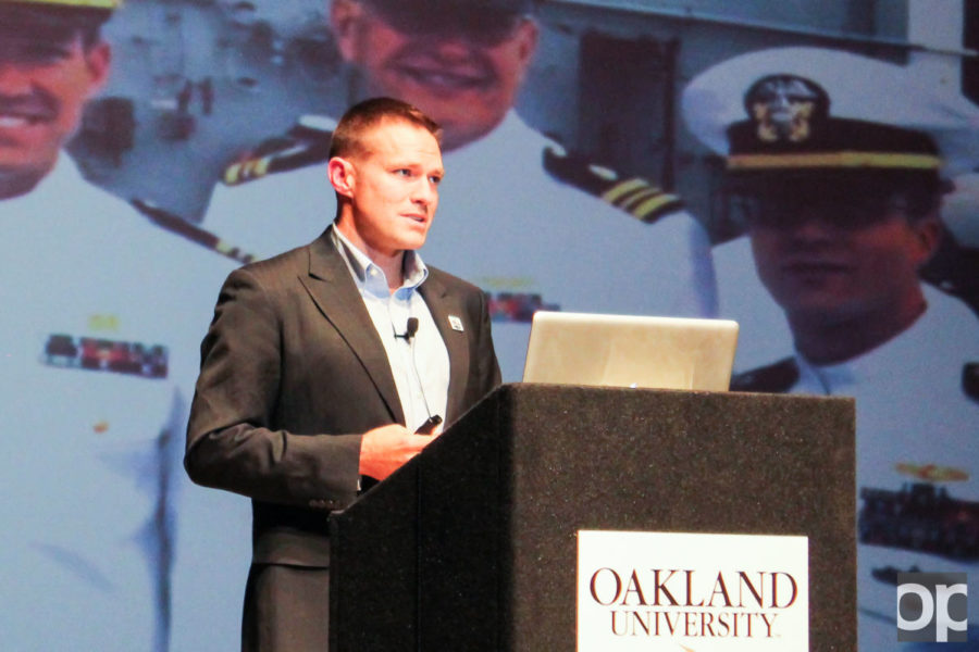 Dr. Andrew Baldwin is a veteran, physician, and a reality star. His lecture is a vital part of Oakland's respect of Veterans Day.