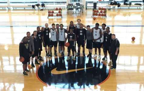 The Oakland men's basketball team visited the Nike Campus in Seattle, Wash. last week before the game against the University of Washington. Oakland University Athletics is set to announce it has signed a 10-year deal with Nike and its authorized dealer, Nike LIDS, at the men's basketball game against No. 1 Michigan State tonight.