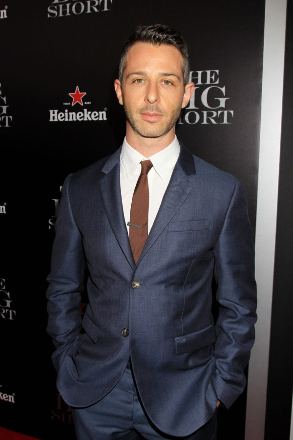 """Jeremy Strong attends the New York Premiere of THE BIG SHORT"""" from Paramount Pictures & Regency Enterprises, at The Ziegfeld Theater in New York, NY on Monday, November 23, 2015."""
