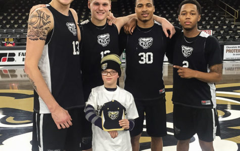 Oakland men's basketball signed Will, a child from Team IMPACT to be a part of the team. Team IMPACT, an organization that matches severely and chronically-ill children with college sports teams.