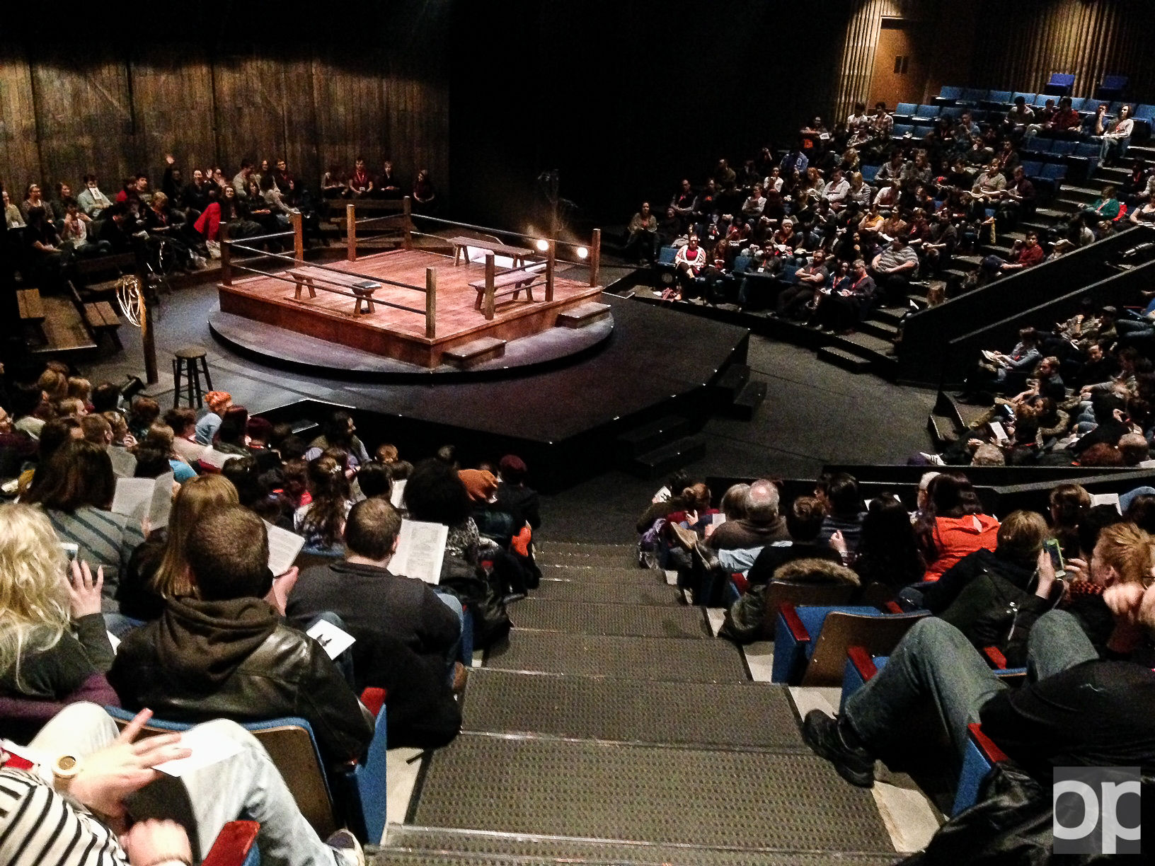 About 80 students from the OU theatre department went to Milwaukee to perform Equus in the American College Theatre Festival from Jan. 5-9.
