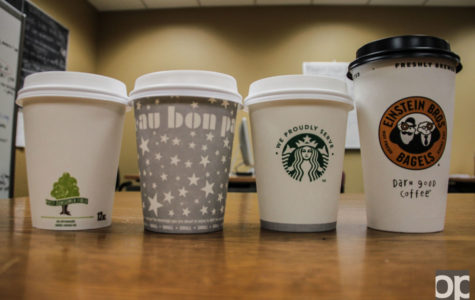 There are many different places at Oakland University to get a cup of handcrafted coffee and they vary in price and taste.