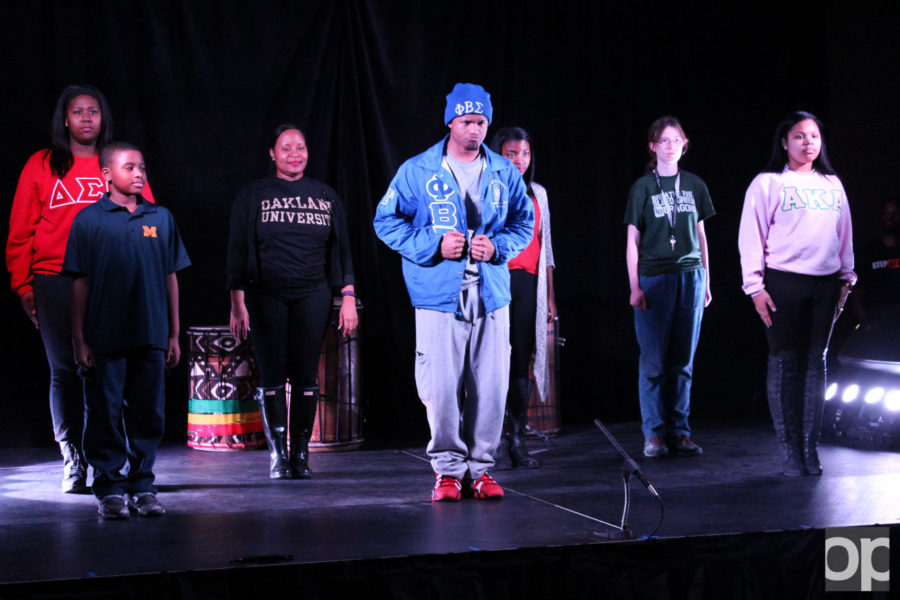 SPB hosted Step Afrika! on Jan. 27 in the banquet rooms in the Oakland Center to perform for the students at Oakland University.Step Afrika! is the first worldwide company dedicated to promoting the tradition of stepping as a motivational, healthy tool for individuals.