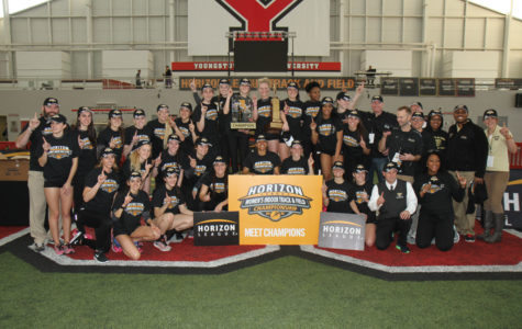 Women's track and field wins Oakland's seventh league title of the year, men place third