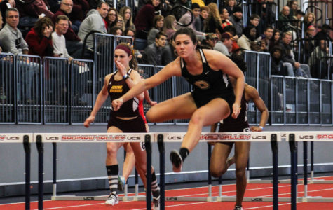 The men's and women's track and field team competed at Saginaw Valley State University on Saturday, Jan. 30.