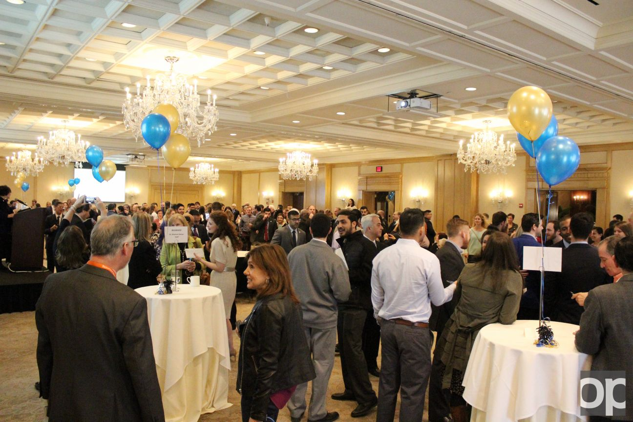 Friends and family of the OUWB class of 2016 gathered at the Townsend hotel in Birmingham for