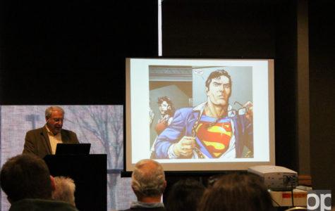 CRU holds event on Jewish origins of superheroes