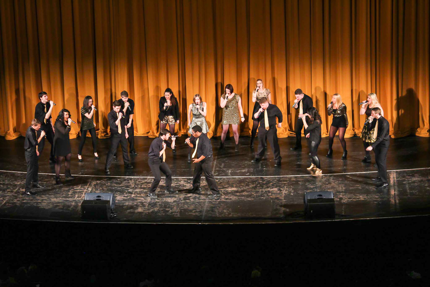 Oakland's a capella group, Gold Vibrations, won semifinals in Chicago and will be advancing to New York.