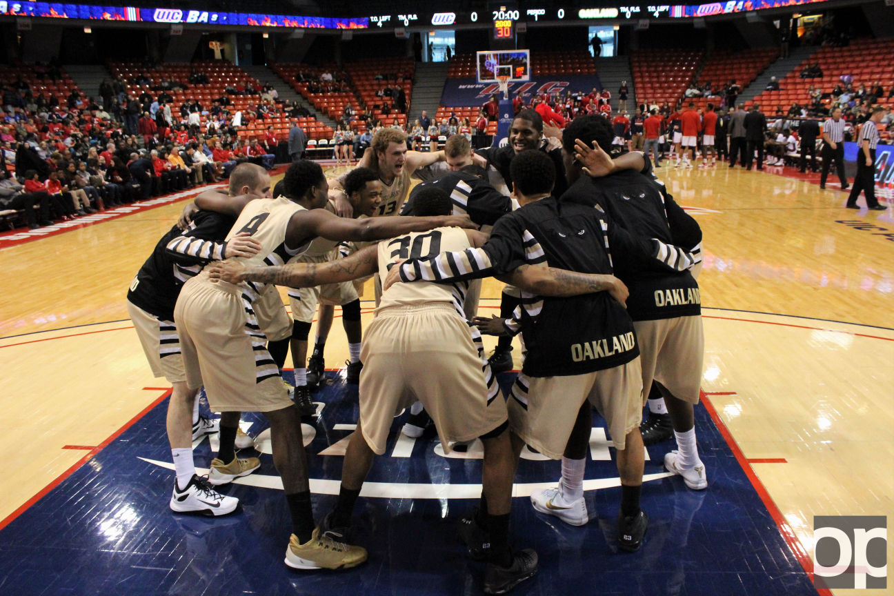 Oakland men's basketball (23-12) lost 68-67 to Old Dominion (25-13) in the finals of the Vegas 16 the night of Wednesday, March 30, at the Mandalay Bay Events Center.