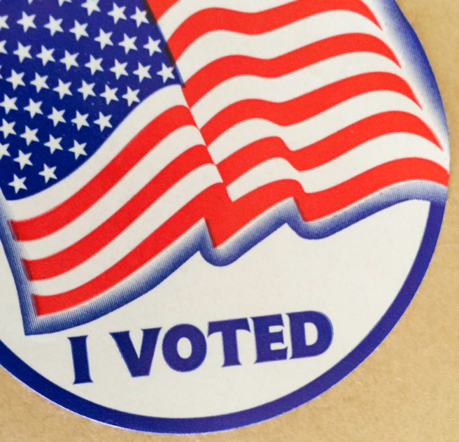 Registered voters in the Michigan primaries who casted their ballot last week received a sticker.
