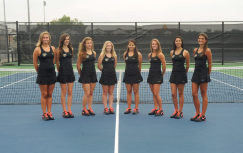 Tennis cruises forward to conference play on singles success