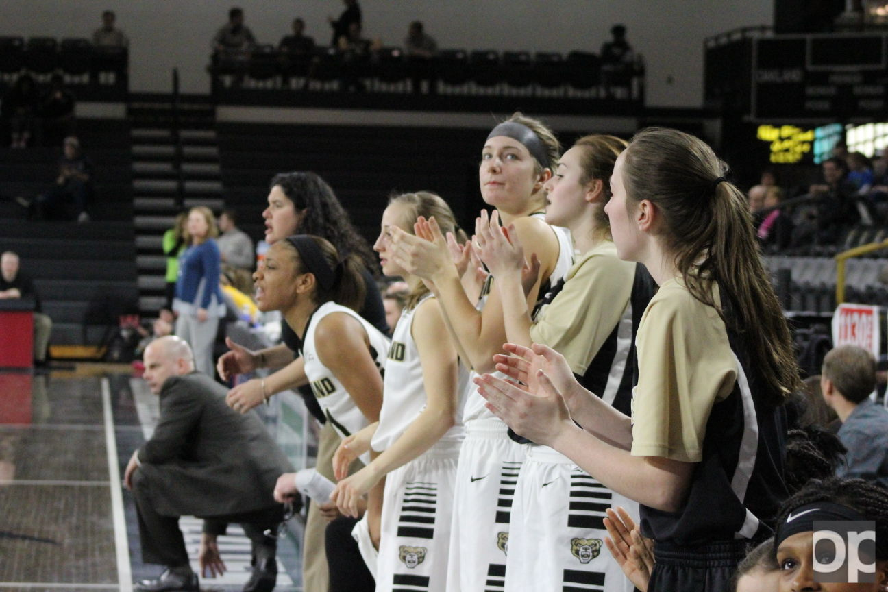 Oakland women's basketball team ended the season 7-11 in the Horizon League as it lost in the first round of the tournament to Youngstown State 63-65.