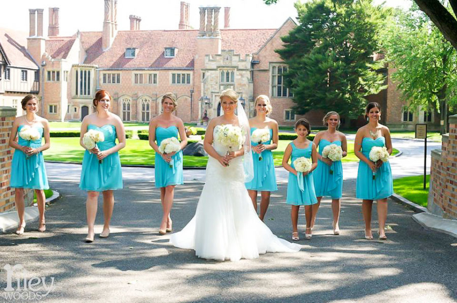 Meadow Brook Hall's historic setting, distinct gardens and four-star service and cuisine have made them an award-winning venue. The cost of a wedding there varies based on number of guests, time of year, and other factors.