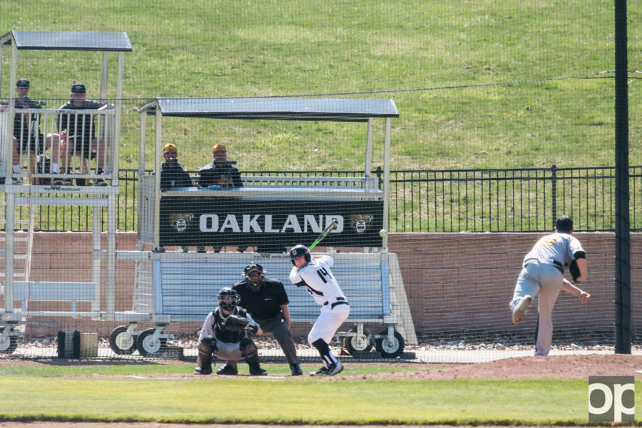 Oakland played against Valparaiso at home and lost 10-4 on Friday, April 15 in the first game of the three-day series.