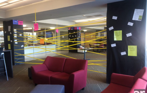 Residence halls recognize mental health awareness