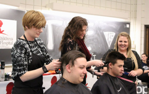 Fraternity fundraises and shaves heads for good cause