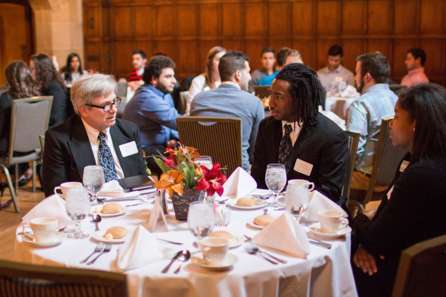 The sixth annual TALK networking banquet was held at the Meadow Brook Hall on Wednesday, March 30.