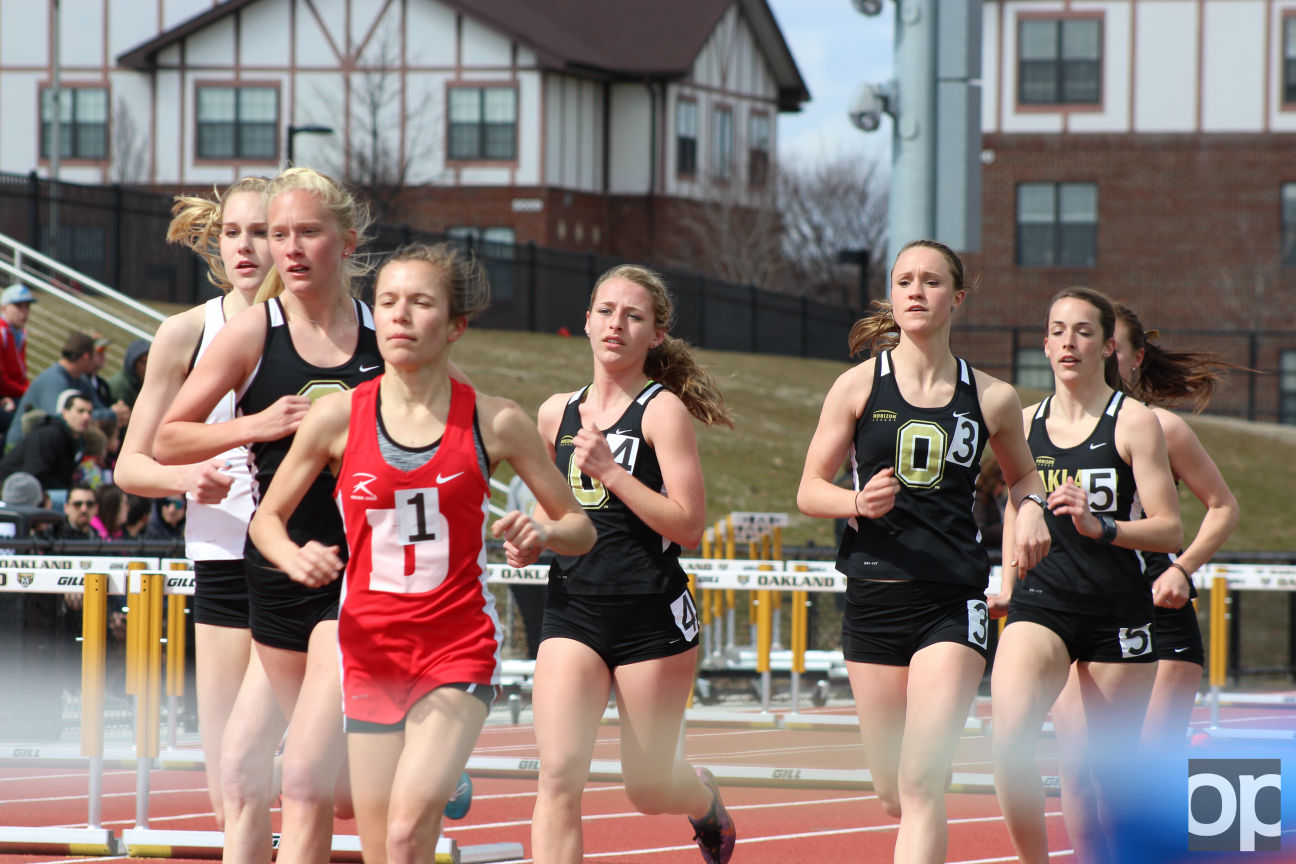 Oakland track and field will compete against UDM at Detroit on April 9.