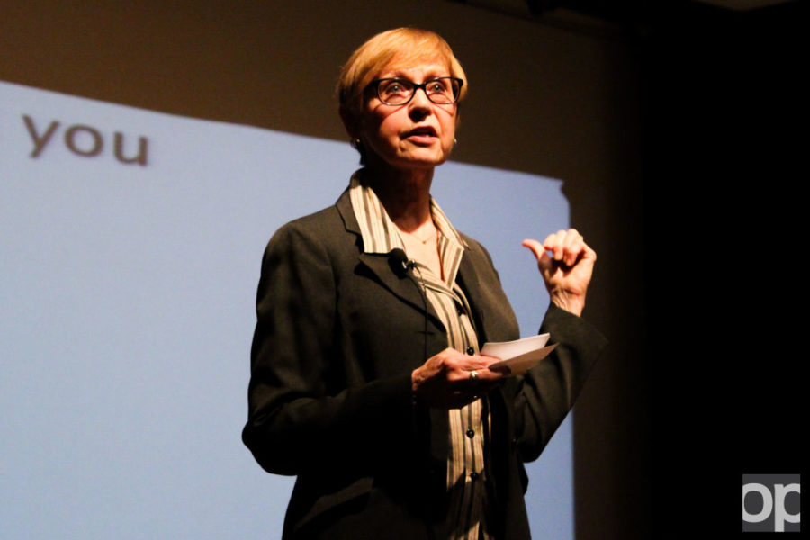 Oakland+welcomed+Dr.+Jacquelyn+White%2C+a+renowned+psychologist+who+specializes+in+sexual+assault+research+at+the+University+of+North+Carolina+at+Greensboro.%C2%A0