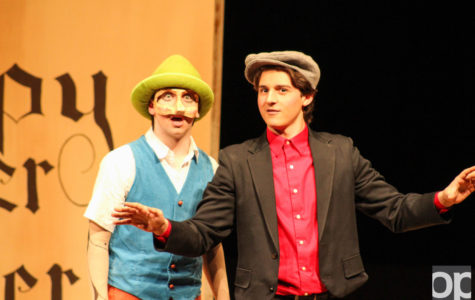 Theatre department brings wooden tale to life