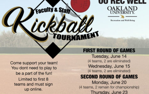 Departments to face off in employee kickball tournament
