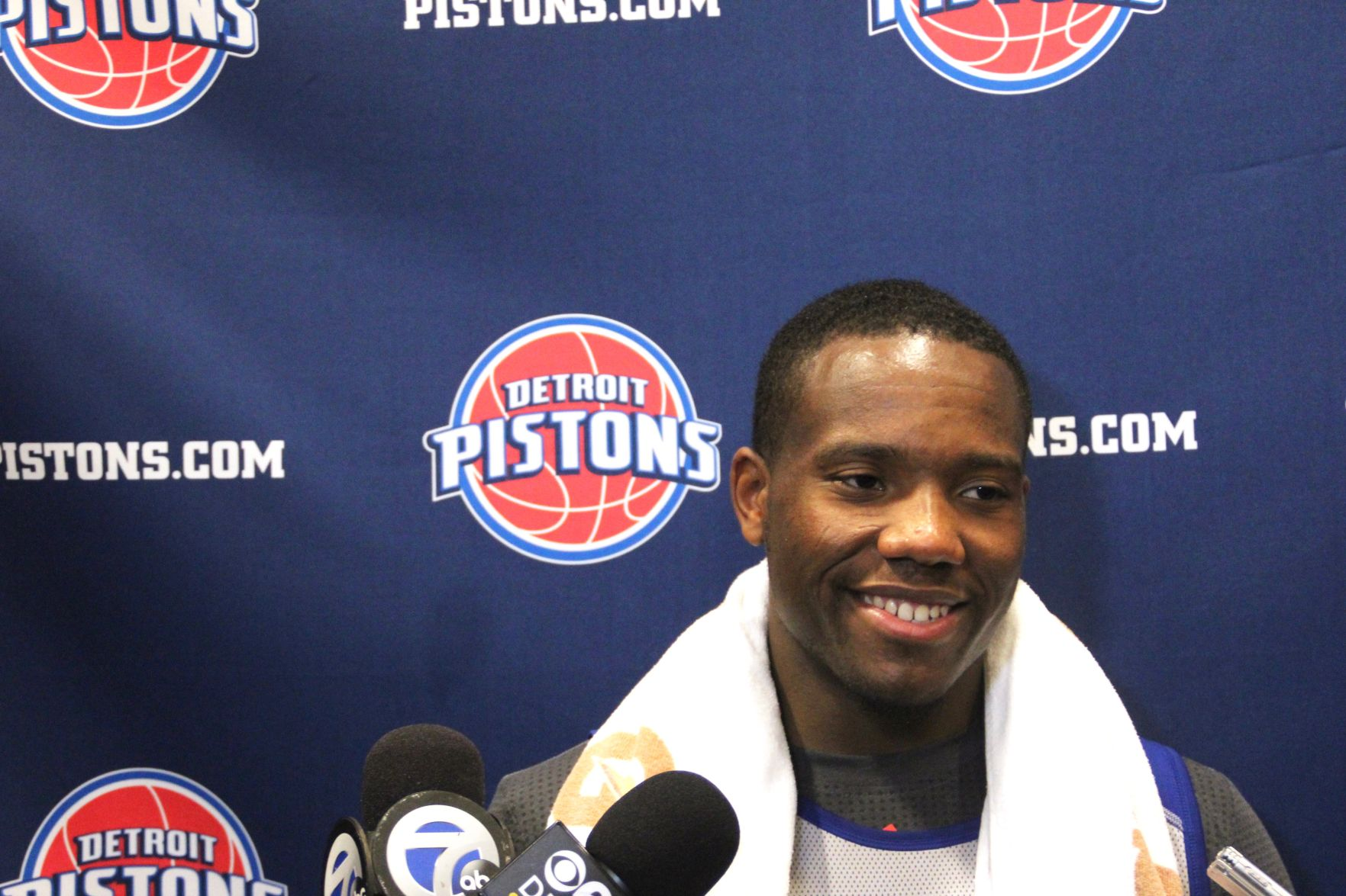 Kay Felder worked out for the Pistons on June 15, 2016.