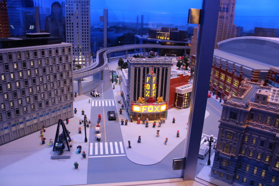 Famous+buildings+like+the+Fox+Theater+have+been+built+as+part+of+the+display+featuring+Detroit.%C2%A0