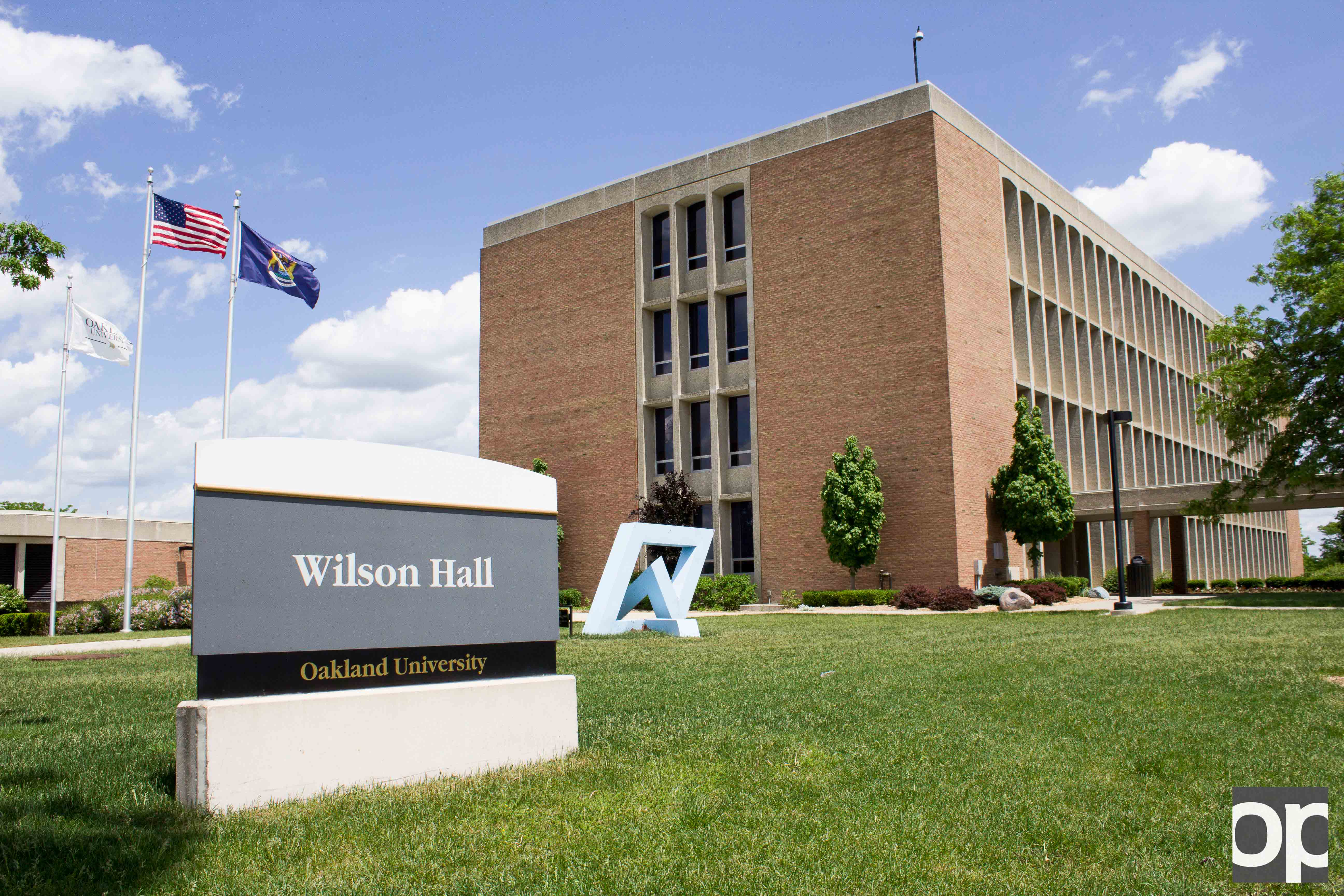 The office of the chief diversity officer is located in Wilson Hall.