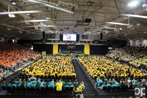 This year 20,012 students were enrolled to Oakland University. (Archived photo)