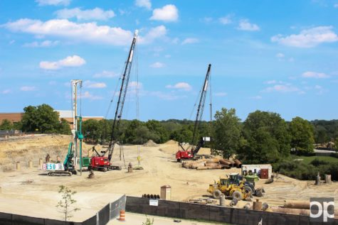 Earlier this summer, Oakland released a campus master plan for projects to be completed by 2018. Construction has already begun on campus.