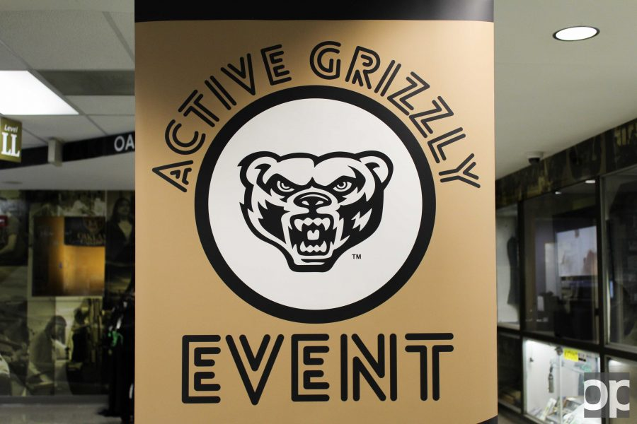 Students get to swipe their Grizz ID card and earn points to collect rewards.
