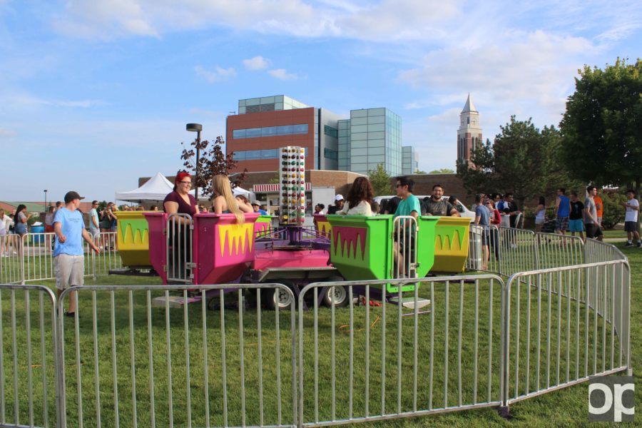 There were many rides, free food, live music and fun activities for students available at the annual SPB fall carnival on Friday, Sept. 9.