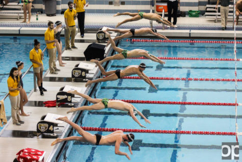 Oakland men's swim team captured its 38th straight conference title and women's swim team won its 23d straight conference title last season.