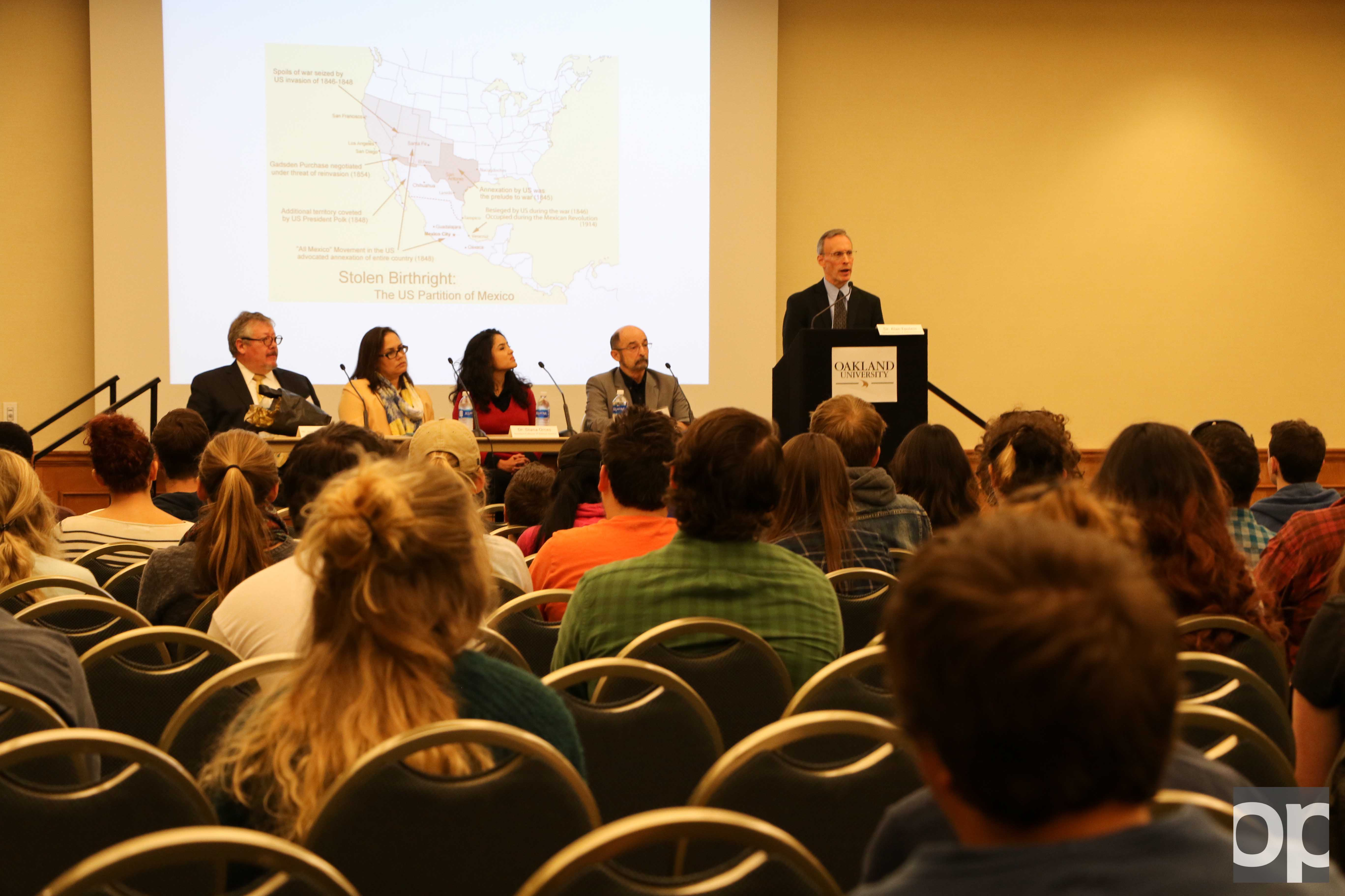 Oakland University Center for Multicultural Initiatives held an immigration debate on Wednesday, Oct. 12 as part of the Hispanic Celebration Month events.