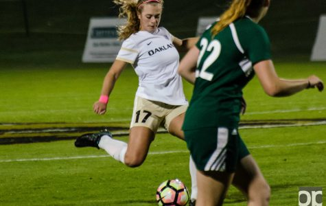 Oakland 2, Green Bay 1: Women's soccer rallies to down Phoenix