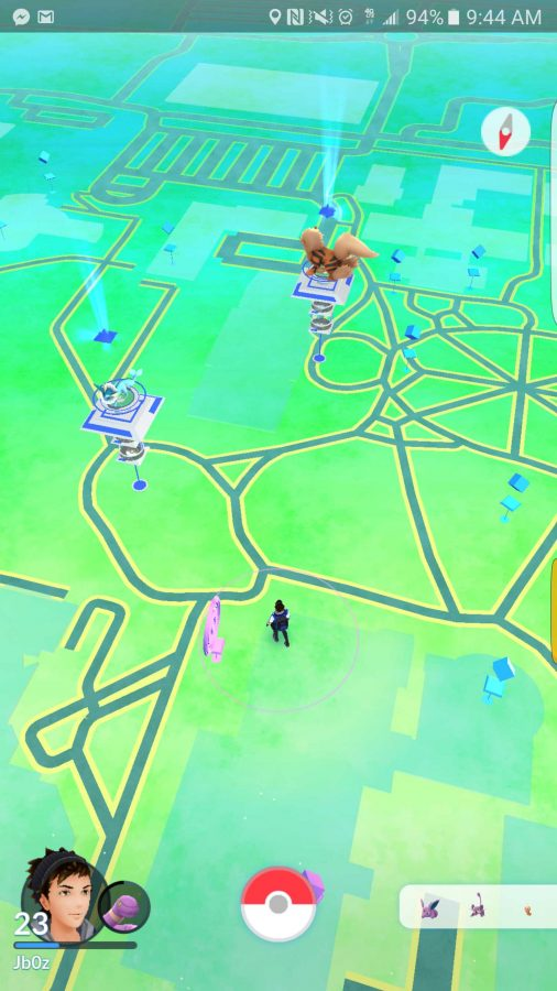 The Elliott Tower is one of the gyms always under attack as students and professors fight to become the leader.