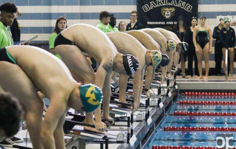 Swimming and diving sweeps home opener
