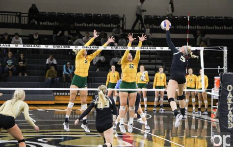 Volleyball caps weekend of wins with 3-0 victory over Wright State