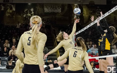 Oakland 3, NKU 1: Volleyball hammers Norse