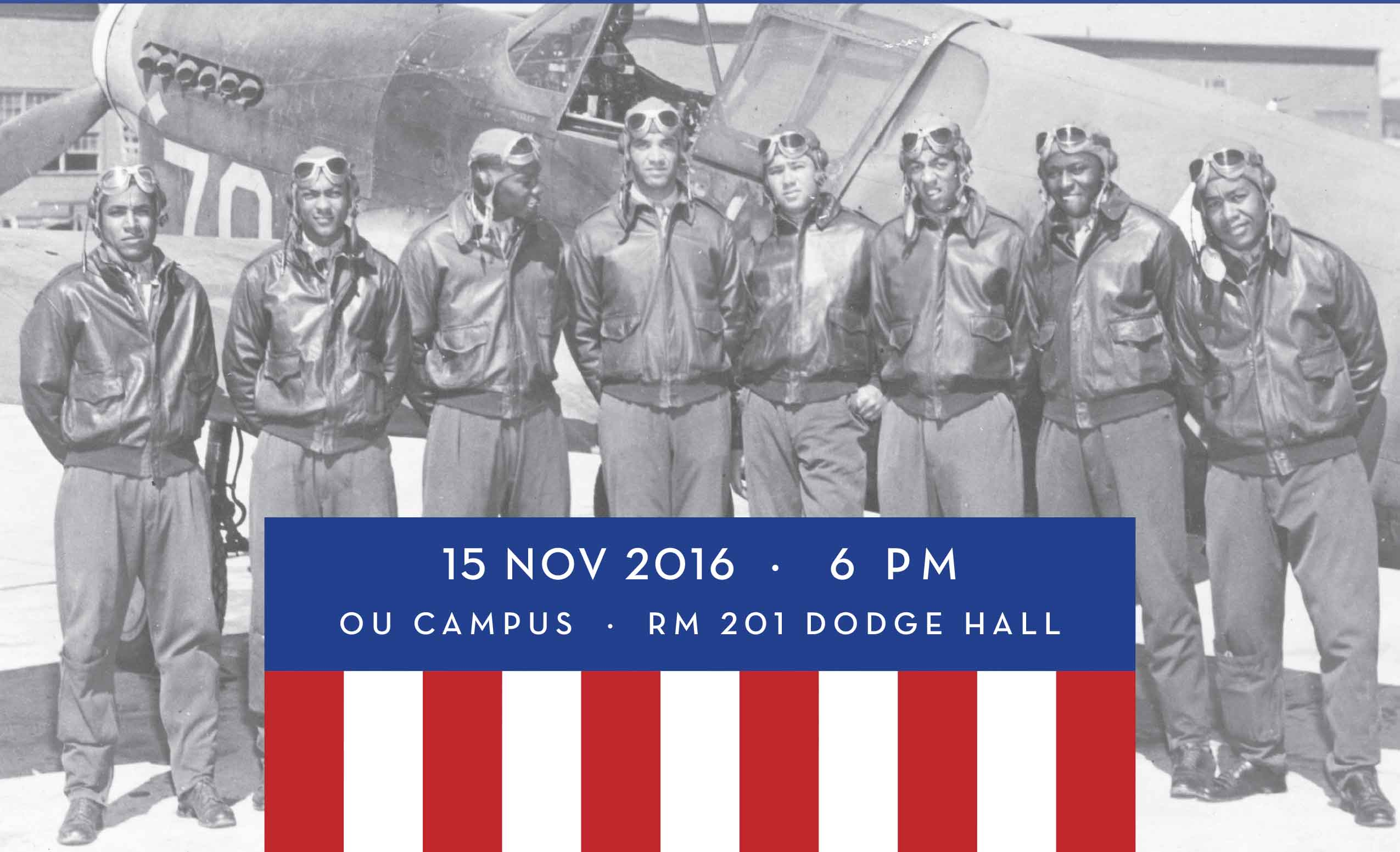 The film screening will include free food from Buffalo Wild Wings and a Q-and-A from the film's director and one of the Tuskegee Airmen.