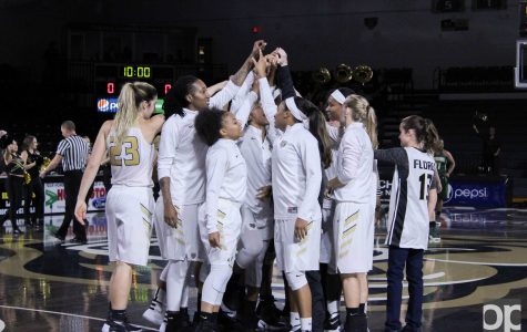 Women's basketball destroys Marygrove at home opener