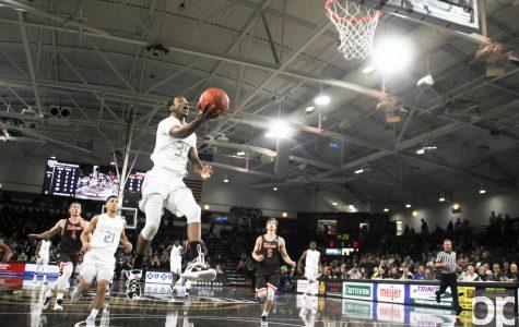 Men's basketball opens season 78-70 over BGSU