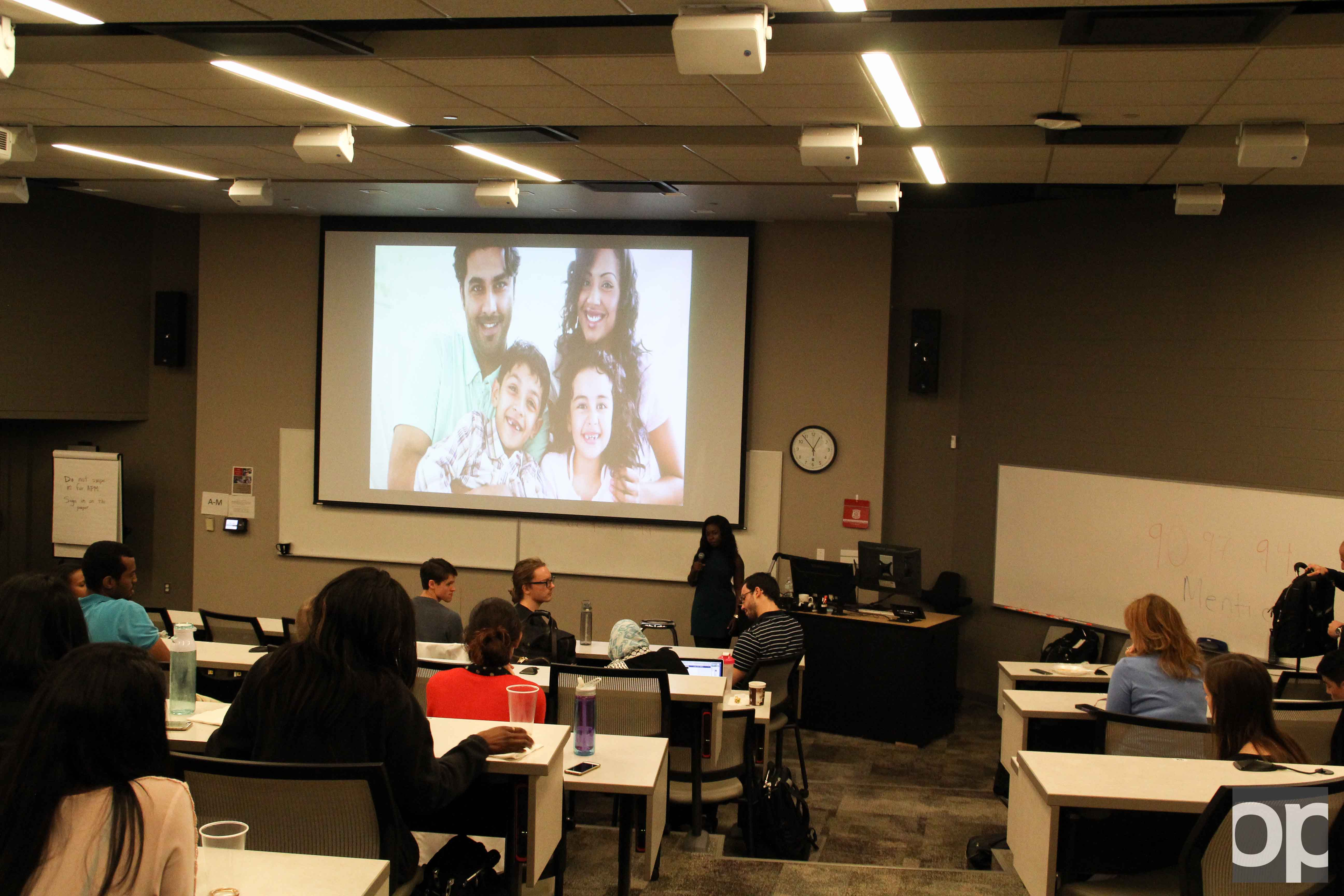 Student National Medical Association hosted TED-like talks to discuss how to deal with indifferences with patients.