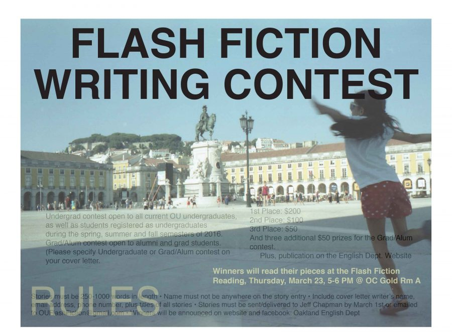 Flash Fiction Contest accepting submissions