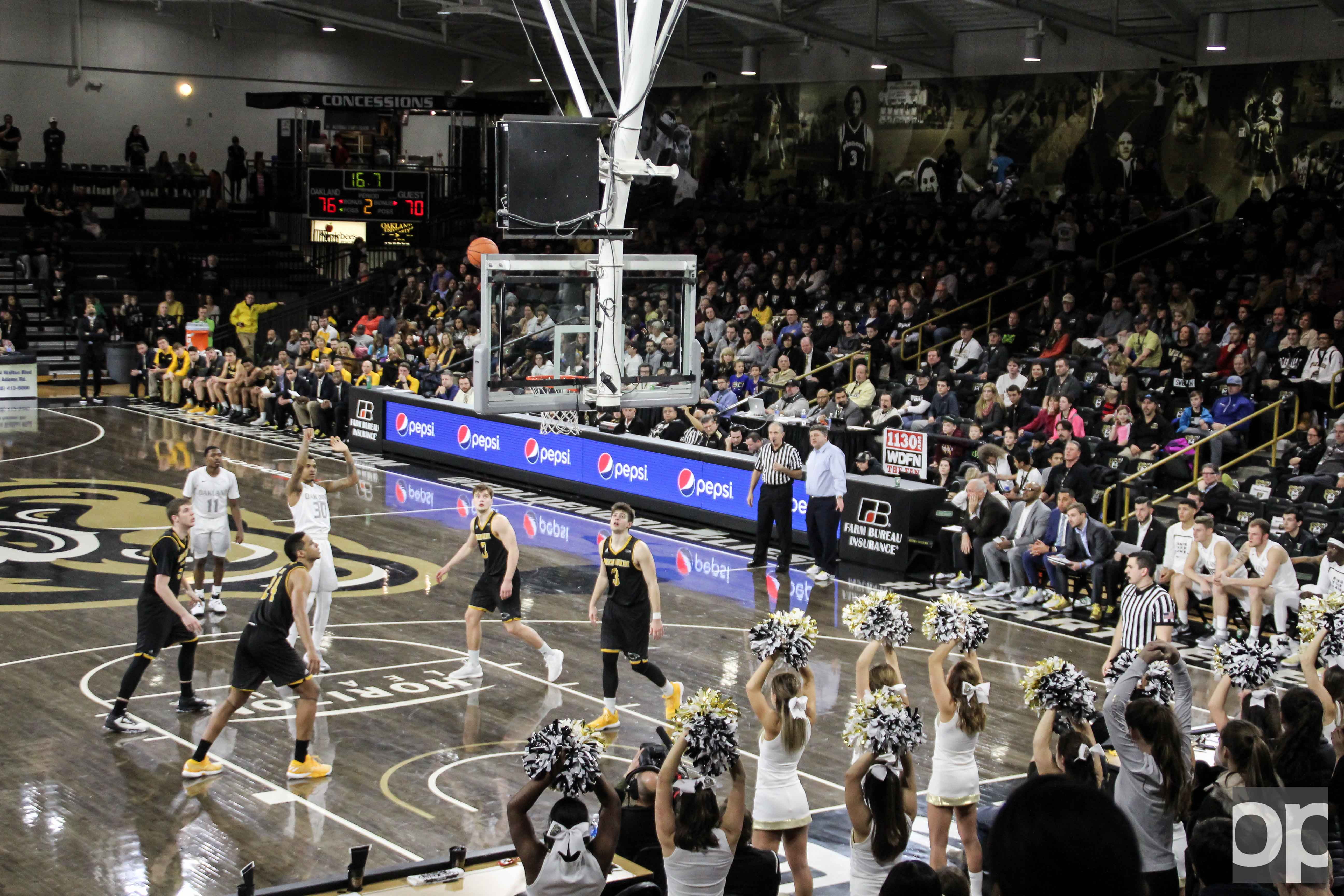 The Golden Grizzlies defeated the Panthers 79-70 in overtime on Sunday, Jan. 29 at the O'rena.