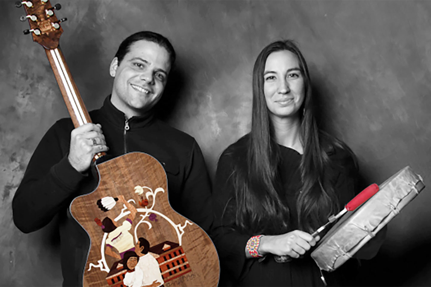 Spirits Rising, a dynamic musical duo featuring Native American singers and songwriters Allison Radell and Joe Reilly – will be performing at 8 p.m. on Saturday, Jan. 28.