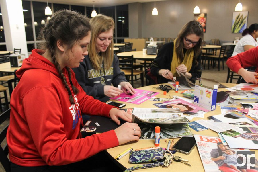 The OU Rec and Wellness Center kicked off its Wellness in the House Series with an info session on how students can make lasting changes for their health, and stay on track with New Years resolutions.